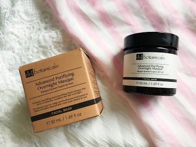 Dr Botanicals Advanced Purifying Overnight Masque Review*