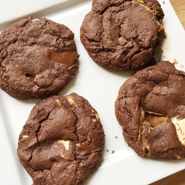 How to Bake Triple Chocolate Cookies!
