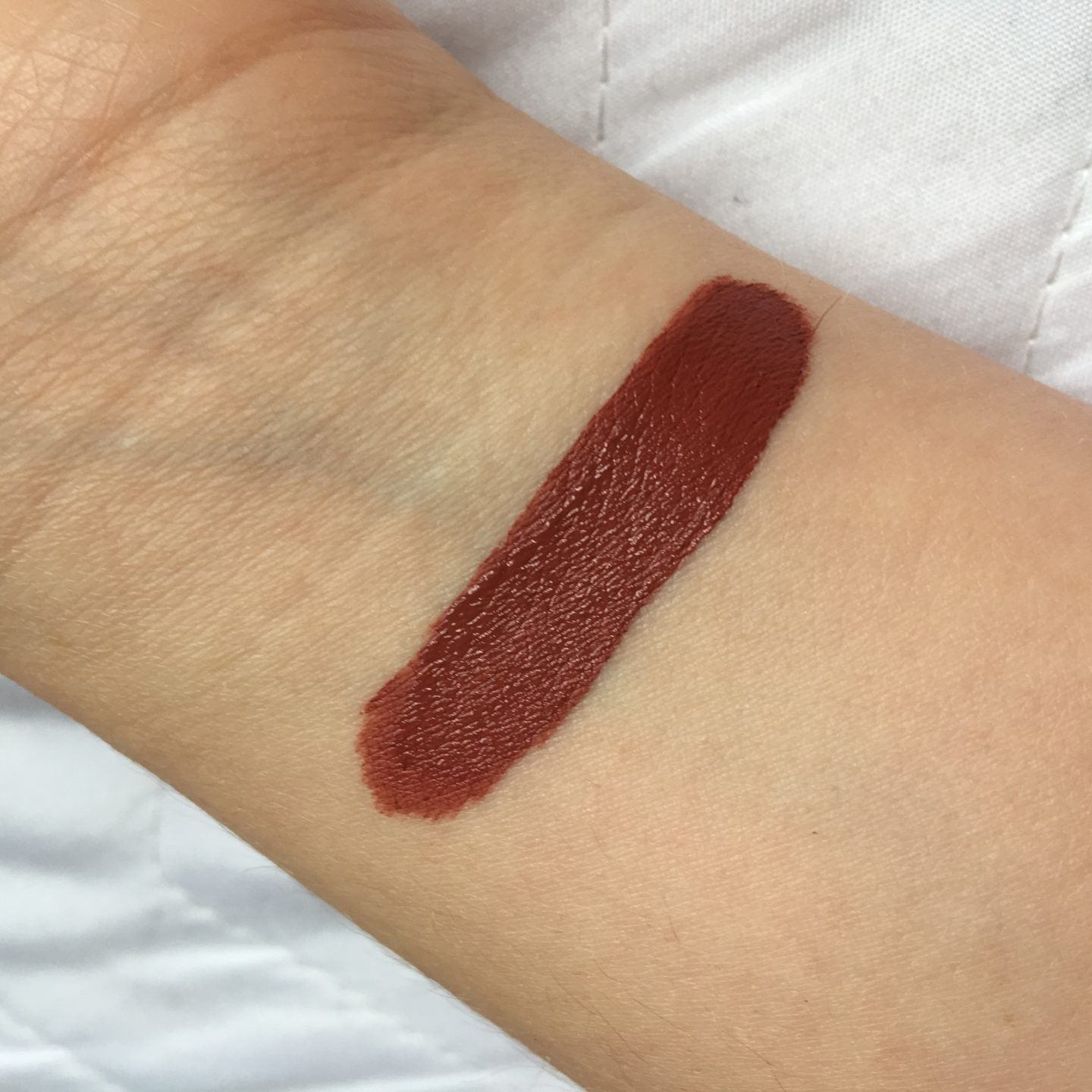 Crown Brush Lip Stain Dusty Rose Review | Swatch