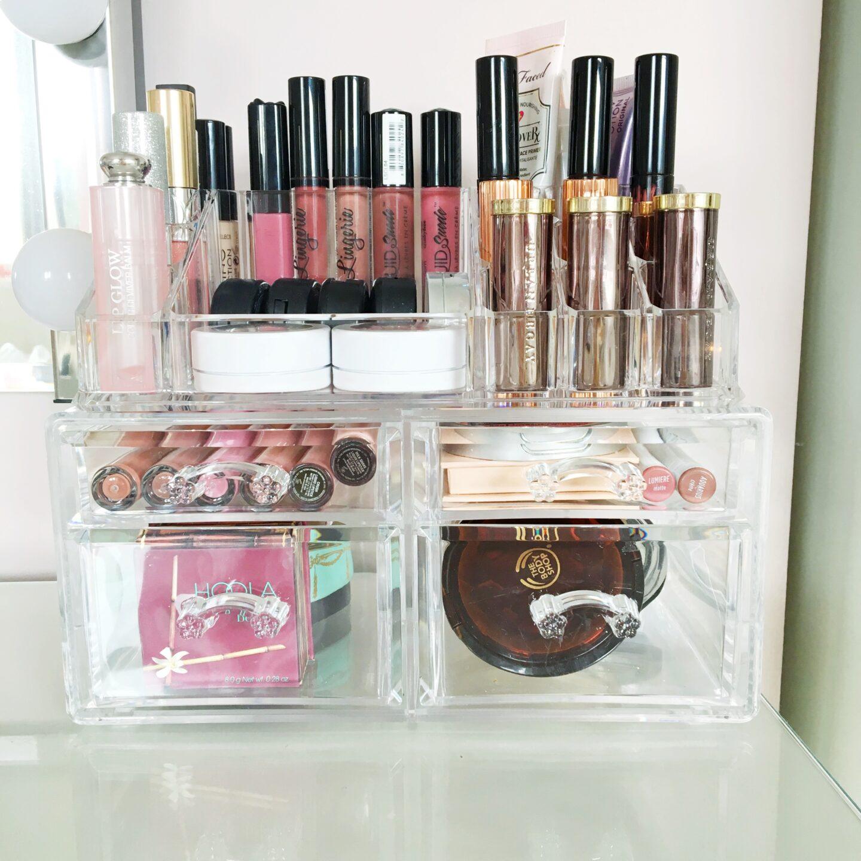 Songmics Acrylic Makeup Storage Review