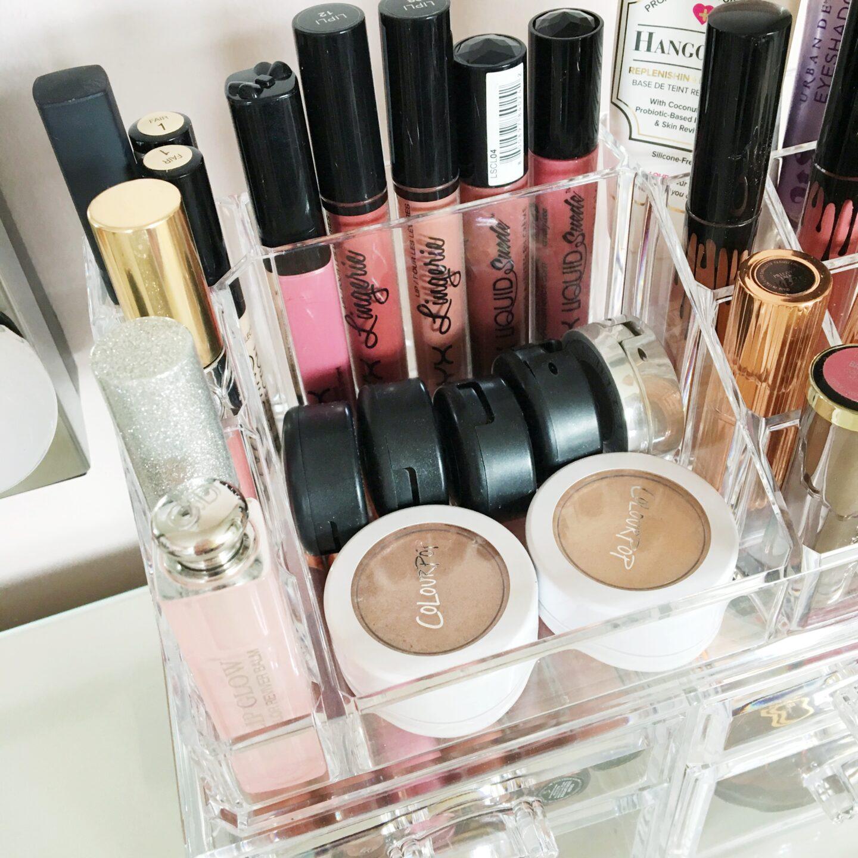 Songmics Acrylic Makeup Storage Review | Storage