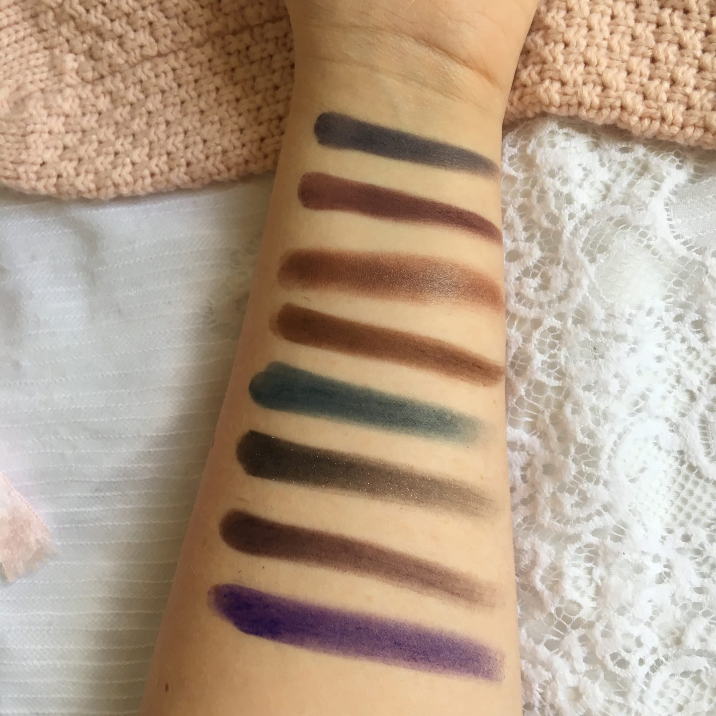 NYX Professional Makeup is Coming to Debenhams?! | Row 2 Swatches