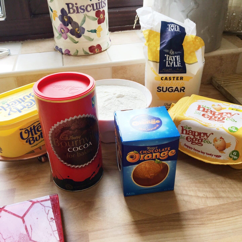 How to Bake Chocolate Orange Cookies | Ingredients