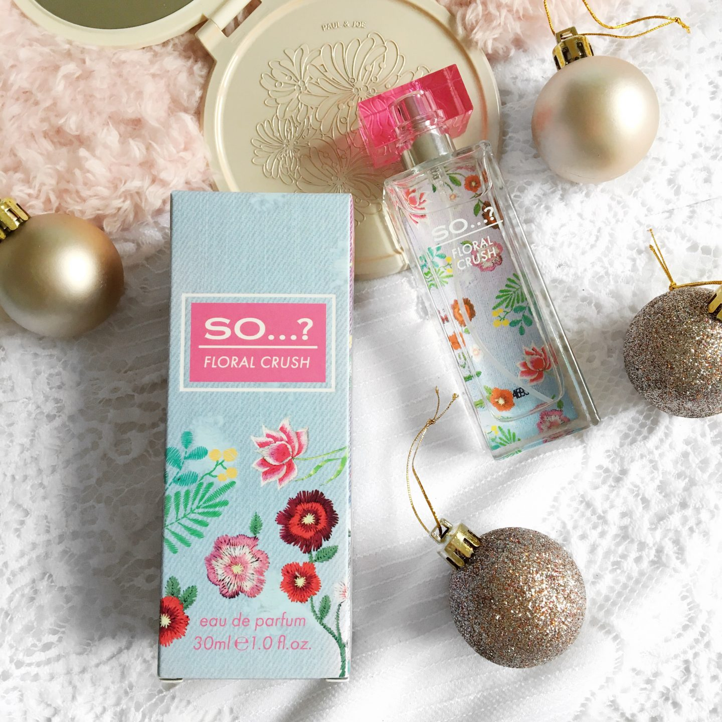 Blogmas Day 2: So...? Fragrances Review | Floral Crush