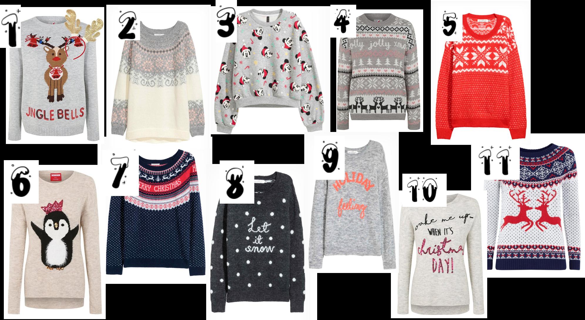Blogmas Day 15: Christmas Jumper Picks