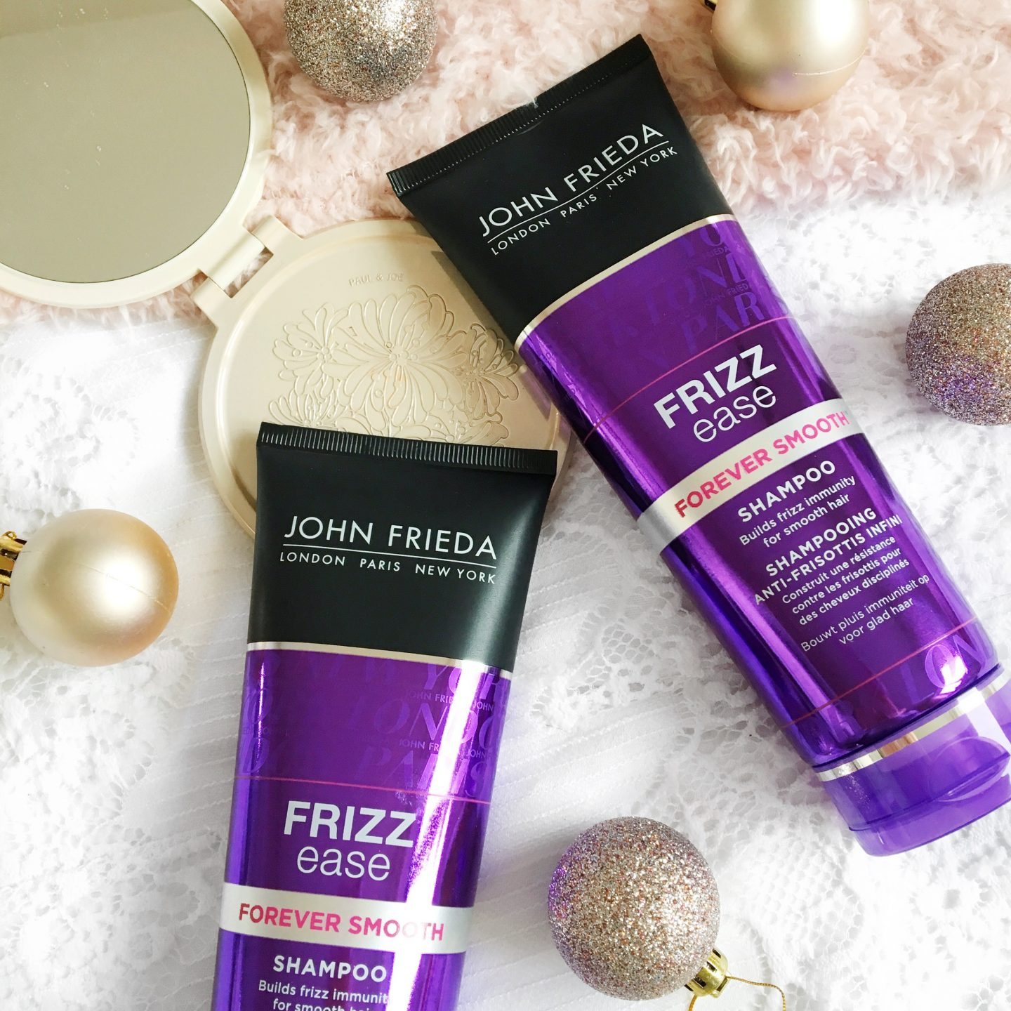 John Frieda Frizz Ease Review shampoo