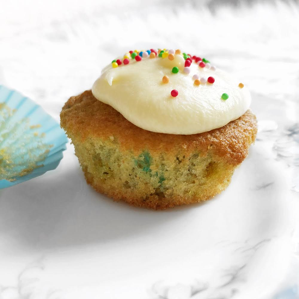 Cupcake | How to Bake Funfetti Cupcakes
