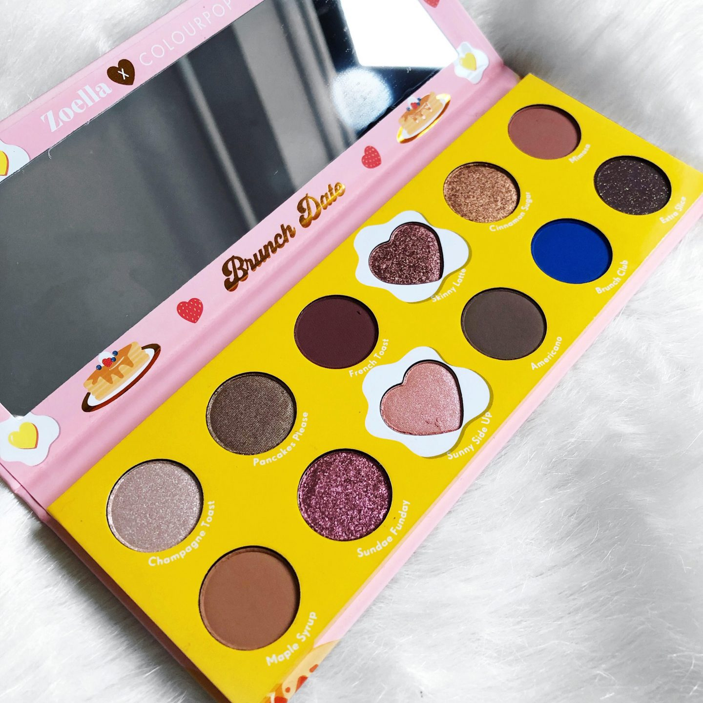 colourpop Zoella brunch palette