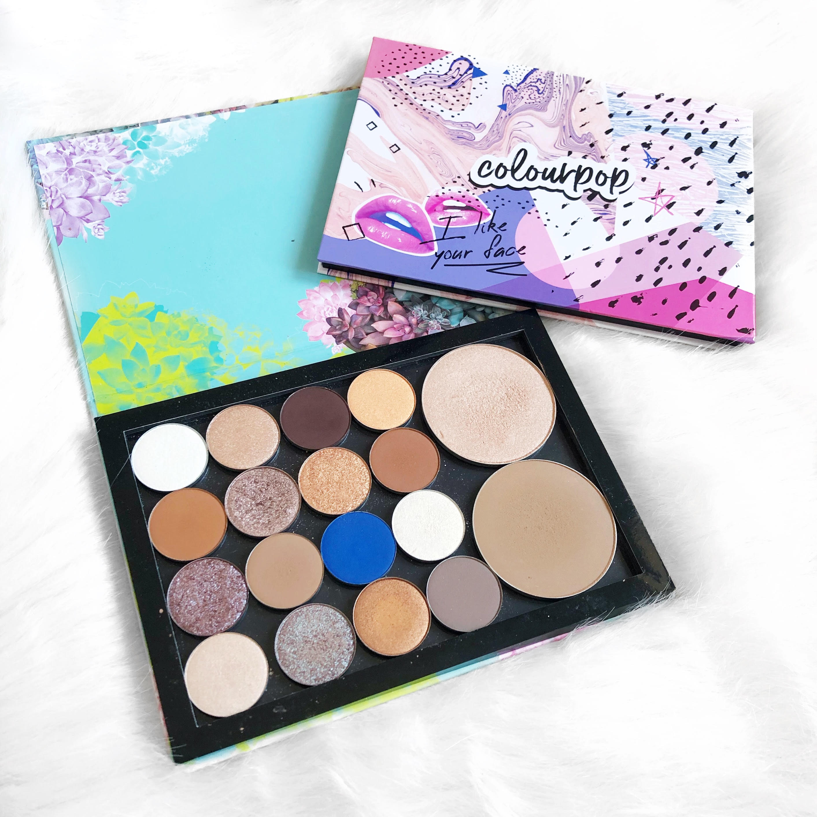 My ColourPop Single Shadow Collection and Swatches!