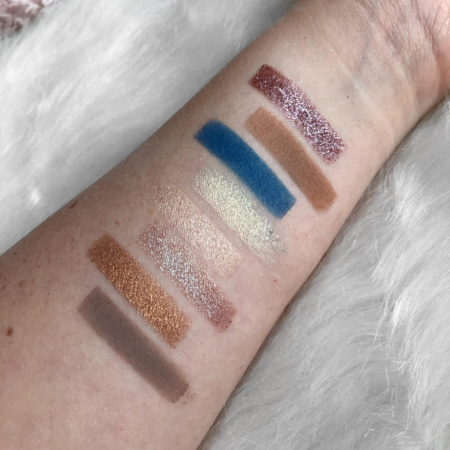 colourpop custom palette rows 3 and 4 swatches