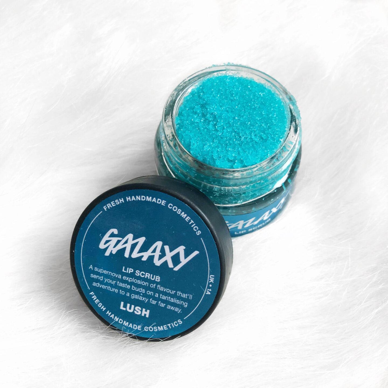 lush galaxy lip scrub