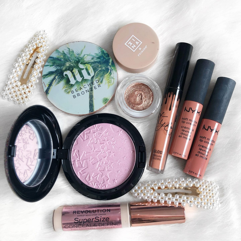 April To-Do List | Makeup Flatlay